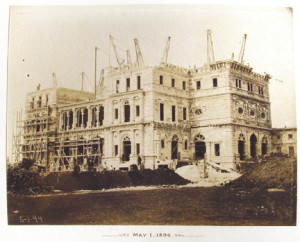 The Breakers under construction, May 1, 1894