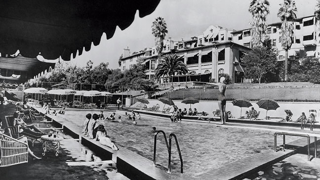 Beverly Hills Hotel Then And Now